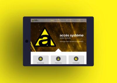 Accès Système création site internet
