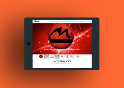 Micro Contact création de site internet